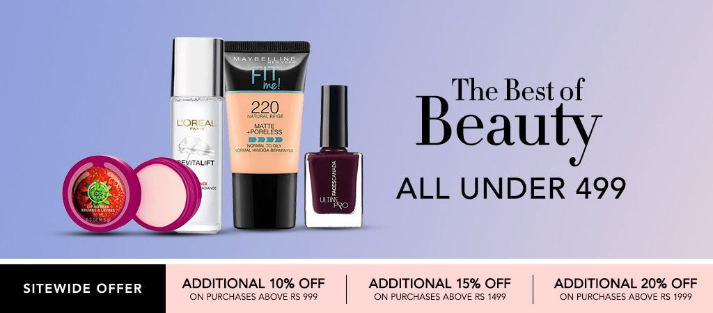 The best of beauty under 499