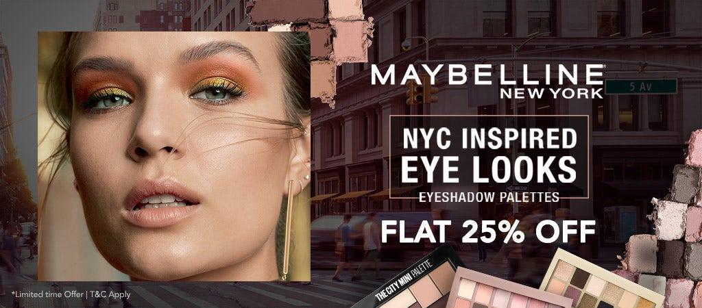 Maybelline Eye range