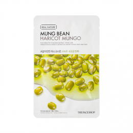 Real Nature Mung Bean Face Mask (20 g)