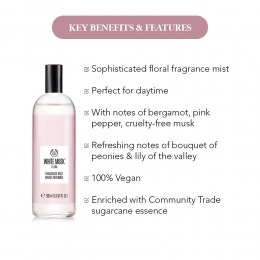 White Musk Flora Fragrance Mist (100ml)